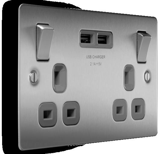 BG USB Sockets
