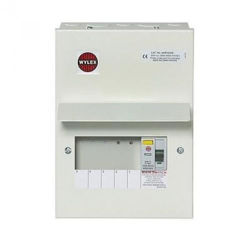 wylex 2 way fuse board rcd protected c w 63a rcd enfield electrical switch box wylex 2 way fuse board rcd protected c w 63a rcd