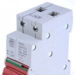 MK 5560S 63A main switch 2 module