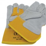 Pair of heavy duty gloves