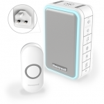 Honeywell wireless door bell & strobe - plug in