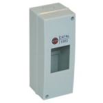 Wylex ESE2 IP40 insulated enclosure 2 module