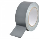 Gaffer/Duct Tape 50mm Wide x50mts Silver/Grey
