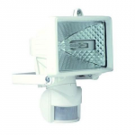 Spectra mini PIR white 150W floodlight 140degree