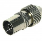 coax plug female