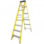 6 Tread 1.65mt fibreglass step ladder