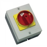 63A 4P 11kW 415V Rotary Isolator IP65 Moulded
