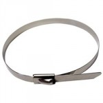 x100 stainless steel ball lock cable tie 300mm