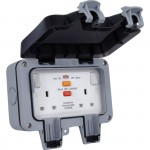 BG Storm 2g 13a RCD IP66 Switched Skt Weatherproof